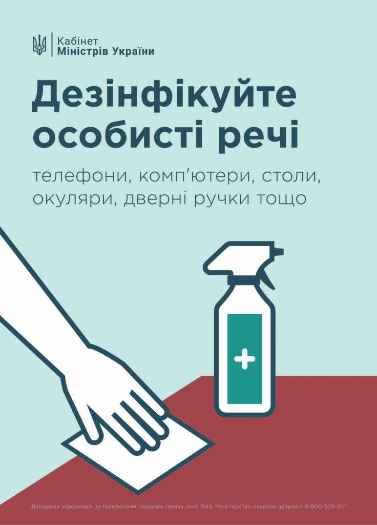 коронавірус рекомендації