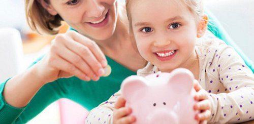 Допомога на дітей одиноким матерям