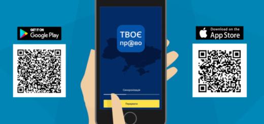 Мобільний застосунок «Твоє право» для переселенців та осіб, які постраждали від сексуального і ґендерно зумовленого насильства та торгівлі людьми