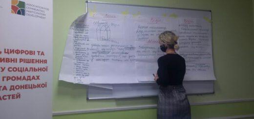 Відбувся перший тренінг з підготовки Стратегії розвитку системи соціального захисту населення в Добропільській громаді
