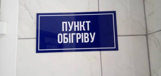 Інформація щодо розміщення стаціонарних пунктів обігріву