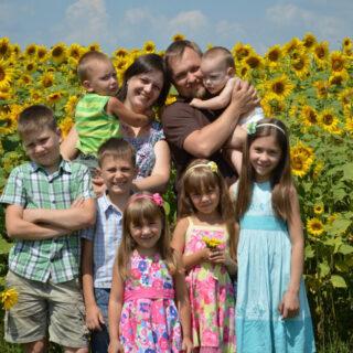 багатодітна родина