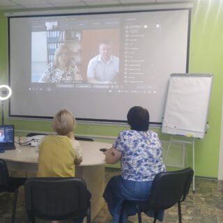 Відбувся онлайн-семінар з представниками Департаменту соціального захисту населення